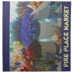 Flowers - Pike Place Market Napkin