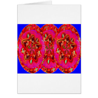 Flowers Pink from Temple Walls Card