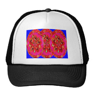 Flowers Pink from Temple Walls Trucker Hat