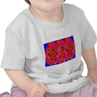 Flowers Pink from Temple Walls T-shirt