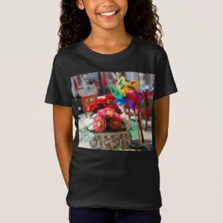 Flowers & Pinwheel T-Shirt