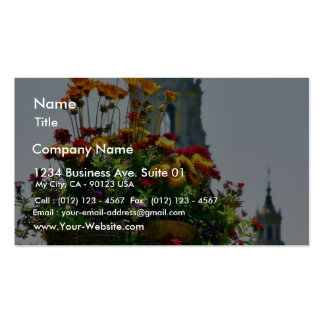 Flowers Planters Domes Towers Double-Sided Standard Business Cards (Pack Of 100)