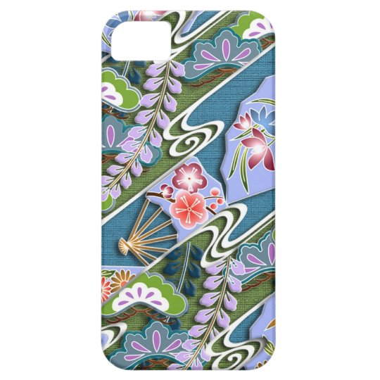 Flowers, plants and fans iPhone SE/5/5s case
