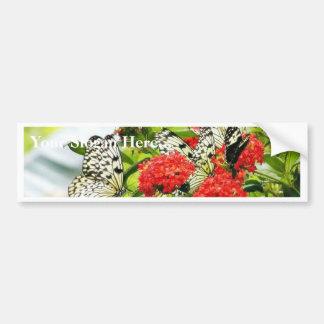 Flowers Plants Butterfly Butterflies Bumper Stickers