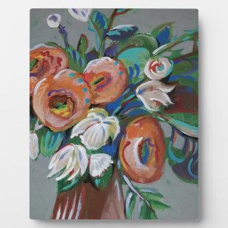 Flowers Plaque