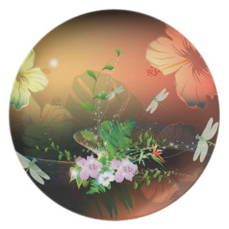 Flowers Plate