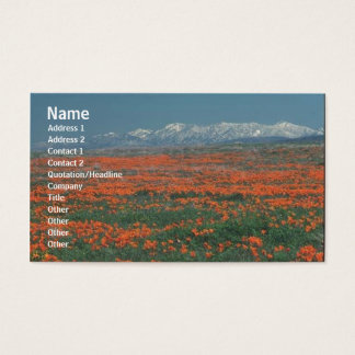 Flowers Profile Card