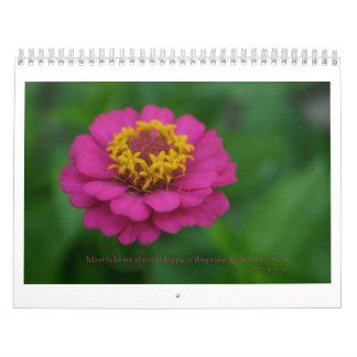 Flowers & quotes Calendar
