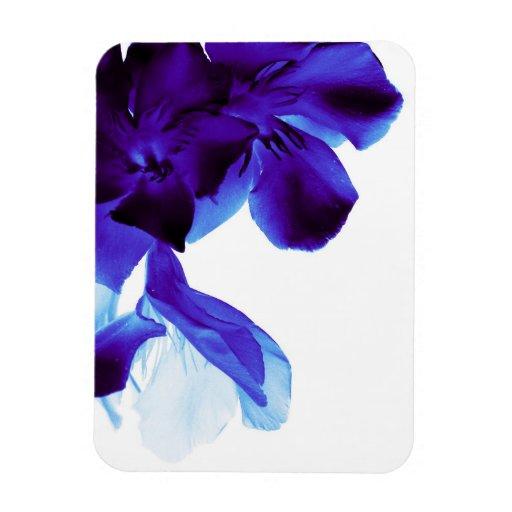 flowers rectangular magnets