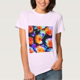 Flowers, Retro T-shirt