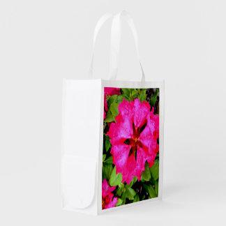 Flowers Reusable, Bag Reusable Grocery Bags