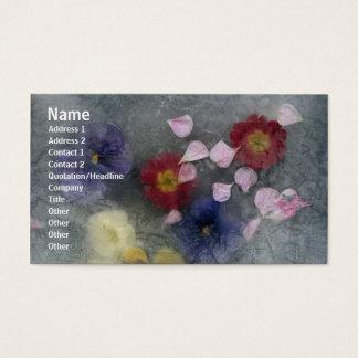 Flowers Rose Petals Profile Card