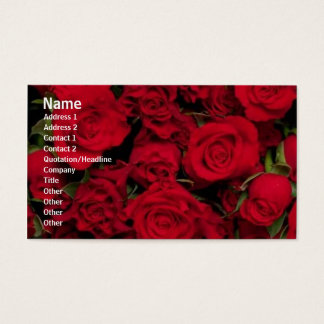 Flowers Roses Profile Card