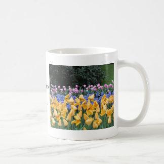 Flowers say it all, tulip time at Keukenhof Coffee Mug