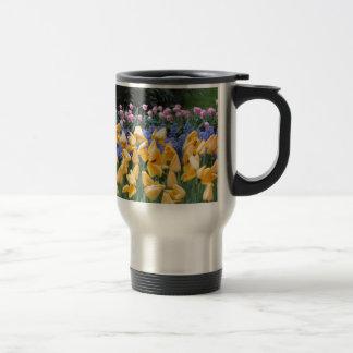 Flowers say it all, tulip time at Keukenhof Travel Mug