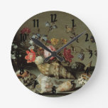 Flowers, Shells and Insects Balthasar van der Ast Clock