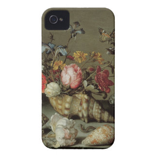 Flowers, Shells and Insects Balthasar van der Ast iPhone 4 Case-Mate Case
