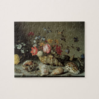 Flowers, Shells and Insects Balthasar van der Ast Jigsaw Puzzle