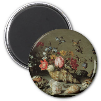 Flowers, Shells and Insects Balthasar van der Ast Magnet