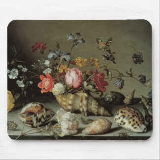 Flowers Shells and Insects Balthasar van der Ast Mouse Pad