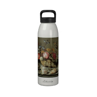 Flowers, Shells and Insects Balthasar van der Ast Reusable Water Bottle