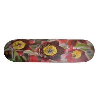 Flowers Skate Board