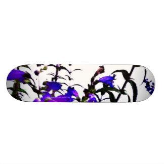 flowers skate deck