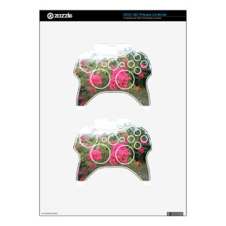 Flowers Xbox 360 Controller Skins