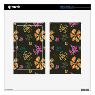 Flowers Decals For Kindle Fire