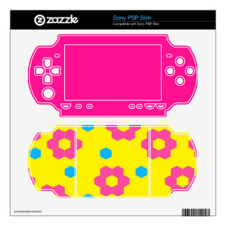 Flowers Decals For PSP Slim