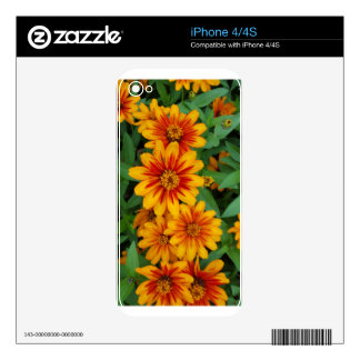 Flowers Skin For The iPhone 4