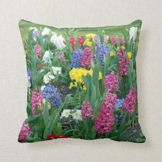 Flowers: Spring Flowers Throw Pillow