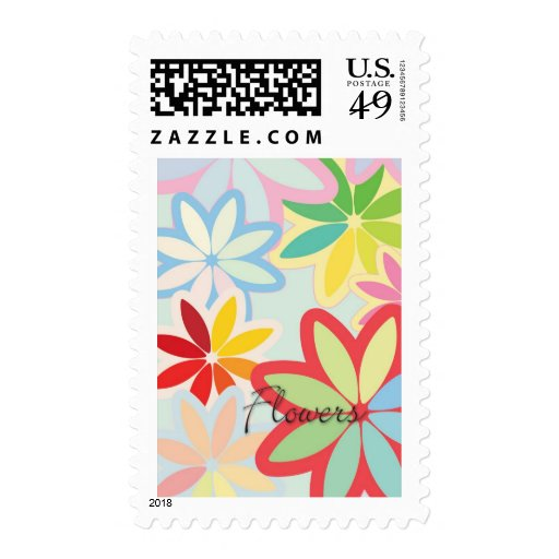 flowers stamps