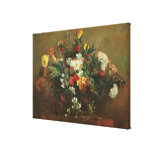 Flowers Stretched Canvas Print