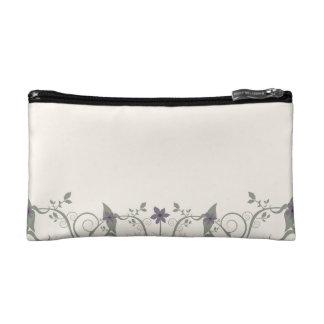 Flowers & Stripes Makeup Bag
