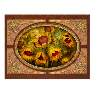 Flowers - Sunflowers - You're my only sunshine Postcard