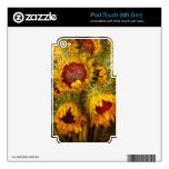 Flowers - Sunflowers - You're my only sunshine Skins For iPod Touch 4G