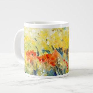 Flowers Sway II Giant Coffee Mug