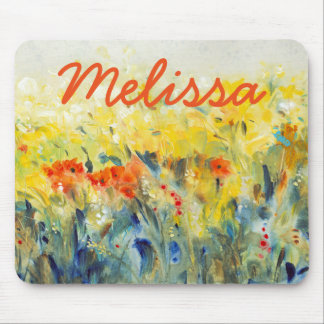 Flowers Sway II Mouse Pad