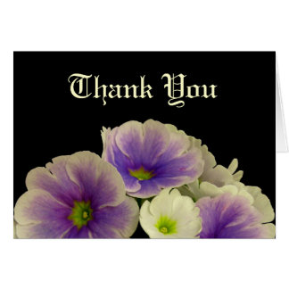 Flowers, Thank You Cards