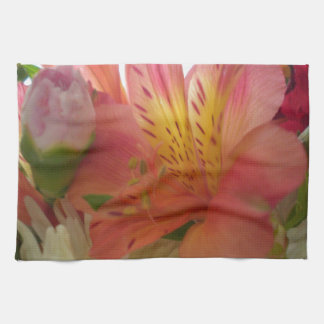 Flowers theme Kitchen Towel