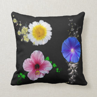 Flowers Three Pillow