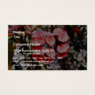 Flowers Throns Plants Business Card