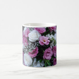 Flowers to cheer its day coffee mug