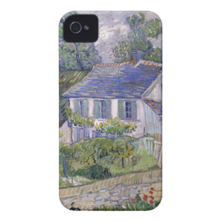 flowers tree gogh blossoms vines plants green iPhone 4 cover