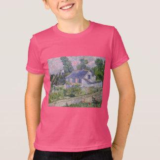 flowers tree gogh blossoms vines plants green T-Shirt