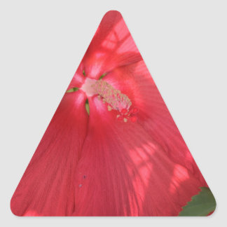 flowers triangle sticker
