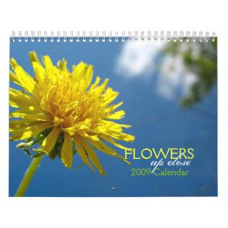Flowers Up Close Calendar