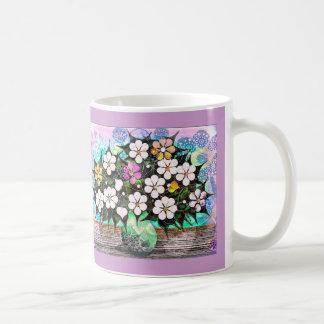 Flowers & Vase Mug