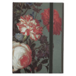 Flowers Vase Shells Insects, Balthasar van der Ast iPad Cover